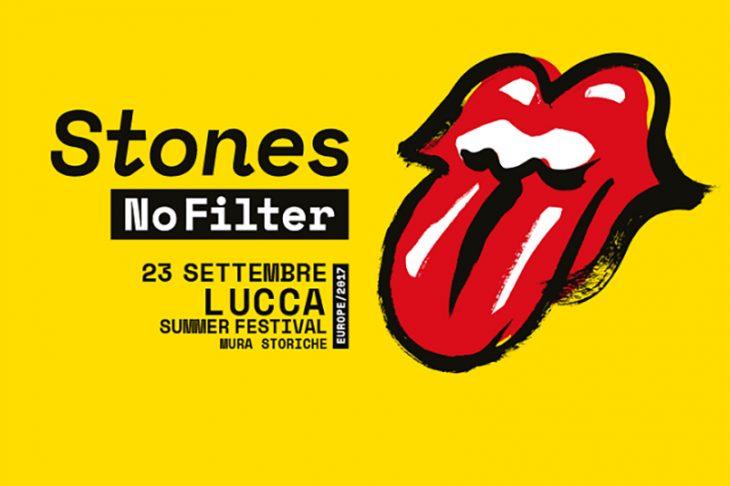 Biglietti Rolling Stones in concerto al Lucca Summer Festival 2017