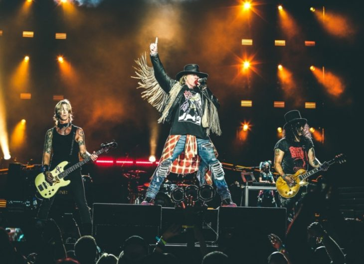 Guns N' Roses al Firenze Rocks 2018