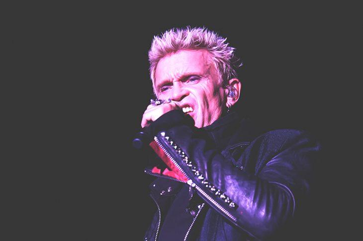 Billy Idol tour 2018, un concerto in Italia a giugno